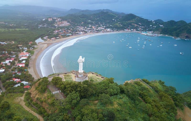 Beroemde reisbestemming in Nicaragua royalty-vrije stock afbeelding