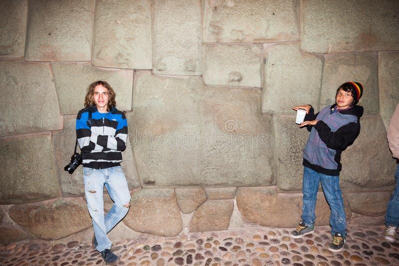 Beroemde twaalf-opgeruimde steen stock fotografie