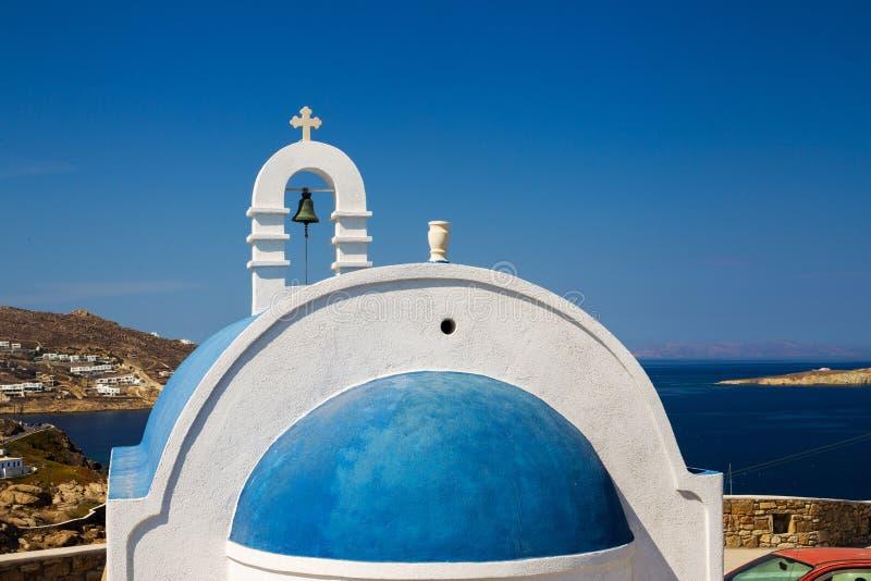 Beroemde witte kerken royalty-vrije stock foto's