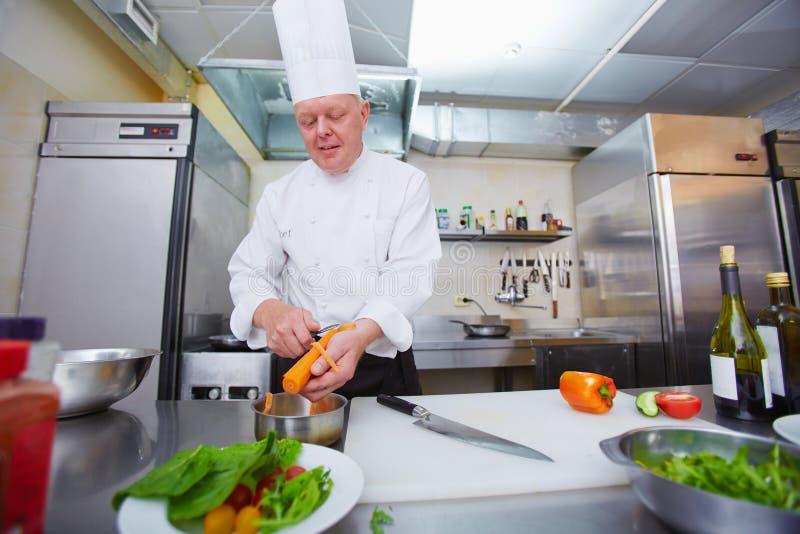 Beroep van chef-kok royalty-vrije stock foto's