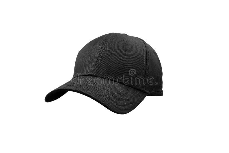 Berretto nero di modo fotografia stock
