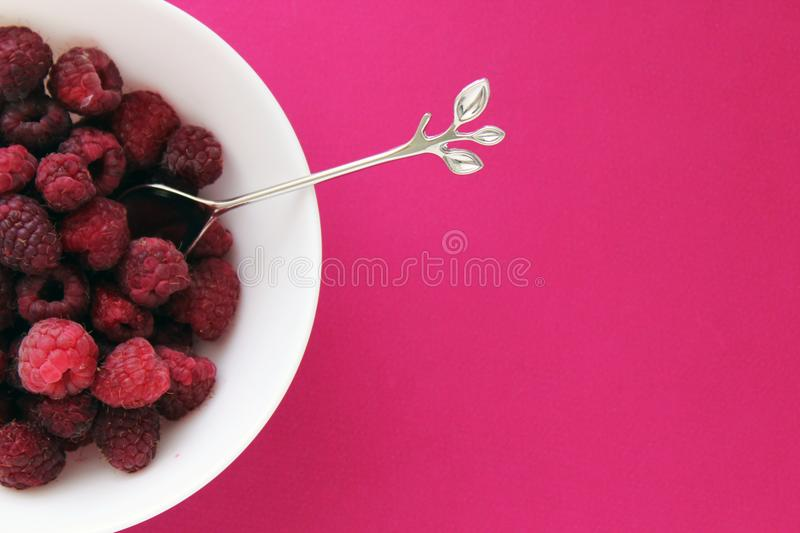 Berries, Bowl, Of royalty free stock photography