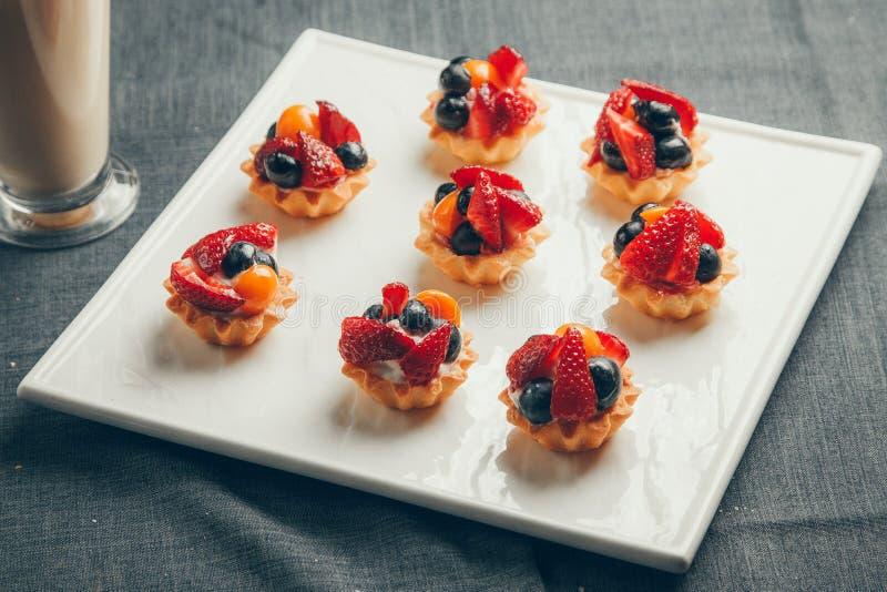 Berry Cake royalty-vrije stock foto's