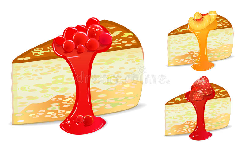 Download Berry Cake Set Stock Photography - Image: 15399692
