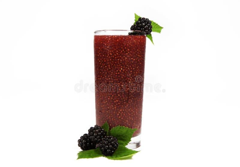 Berry Chia Drink stock photo