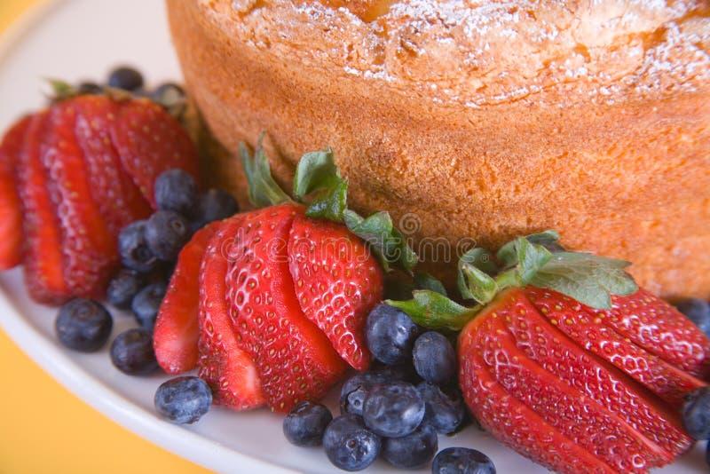 berry ciasto obraz stock