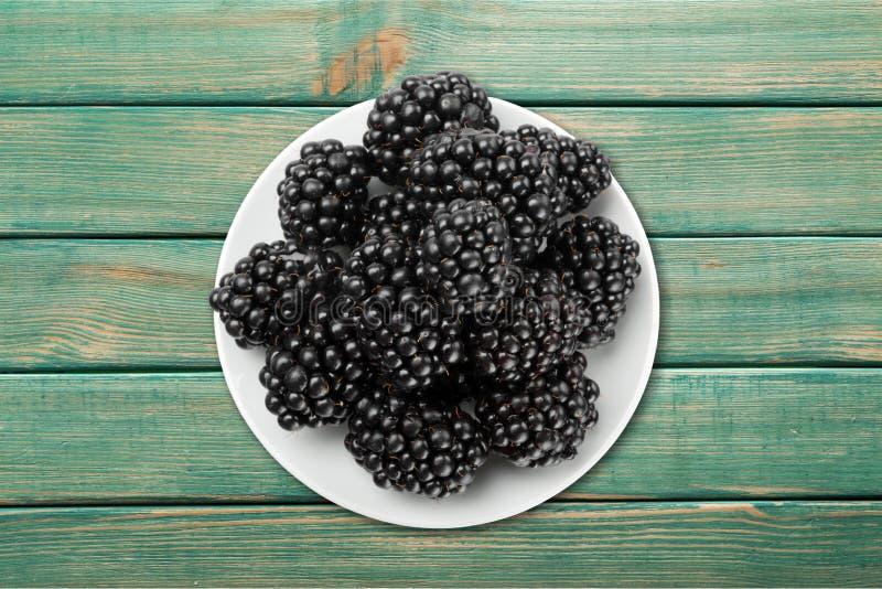 Berry fruit. Blue choice organic blackberry raspberry stock photography