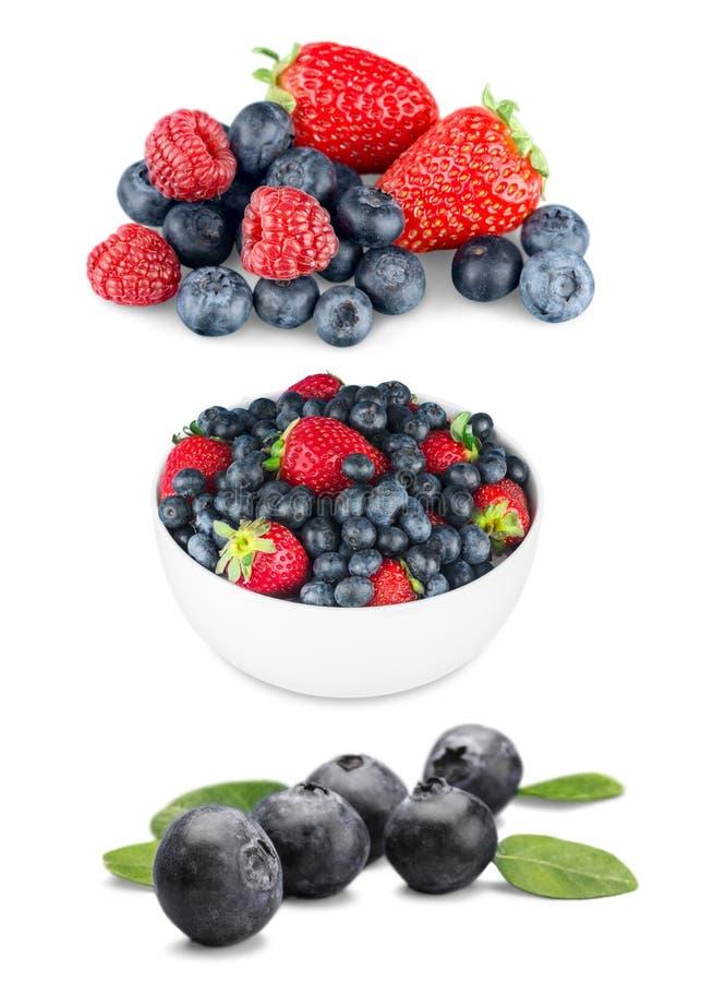 Berry fruit. Fruit strawberry blueberry summer blackberry royalty free stock image