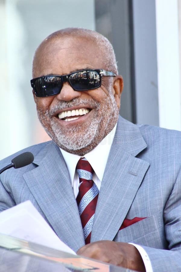 Berry Gordy Jr royaltyfria foton