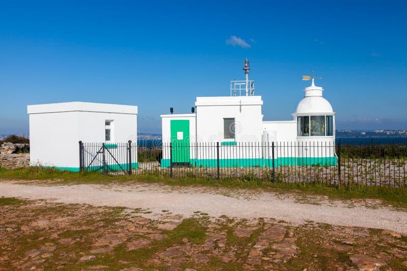 Berry Head Lighthouse Devon image libre de droits
