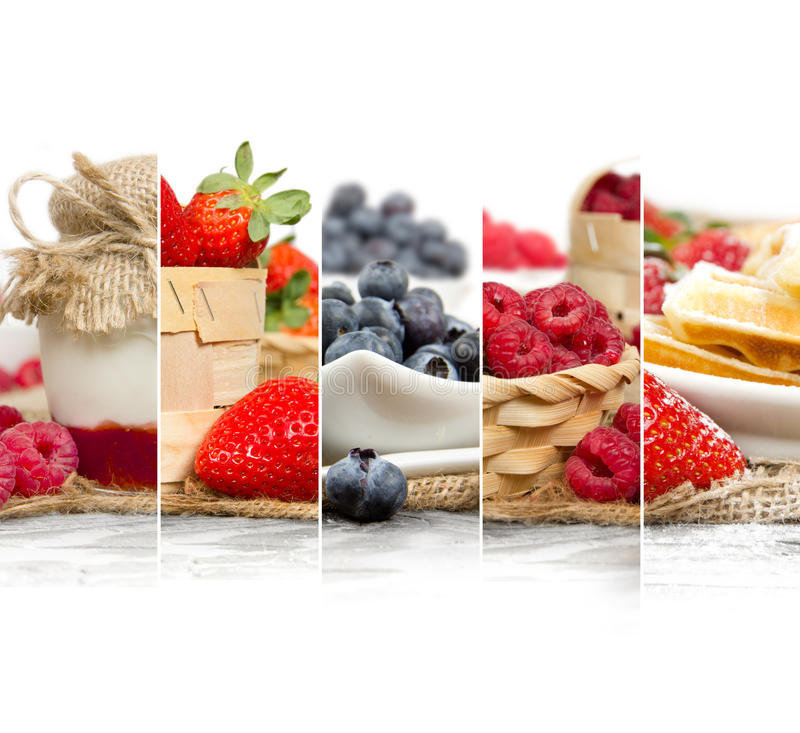 Berry Mix Slices photo stock