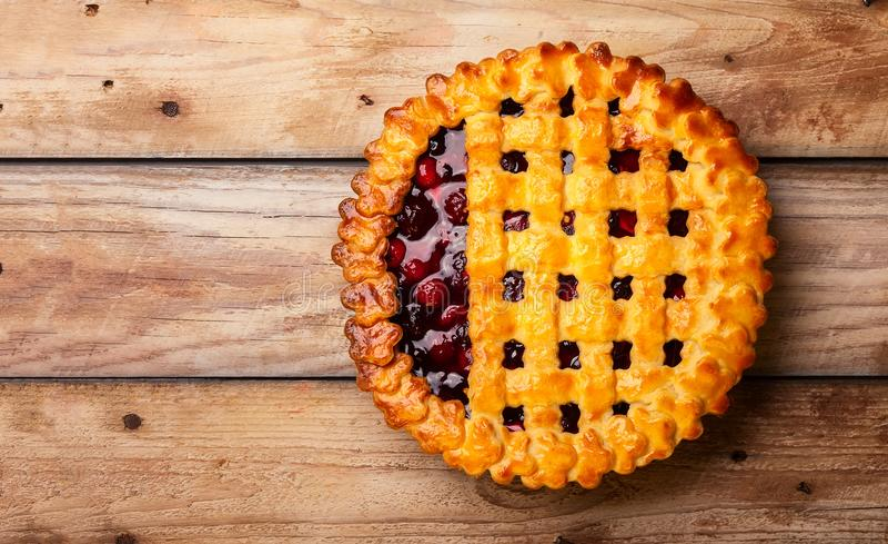 Berry Pie imagen de archivo libre de regalías
