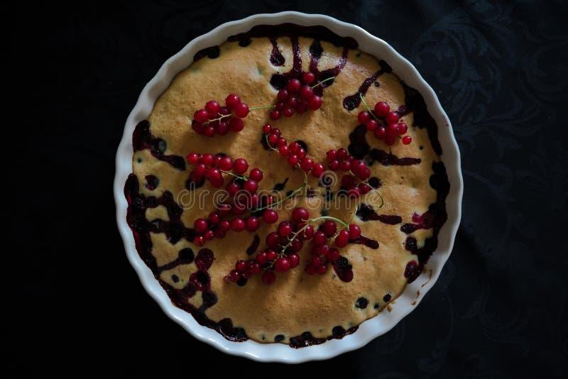Berry Pie image stock