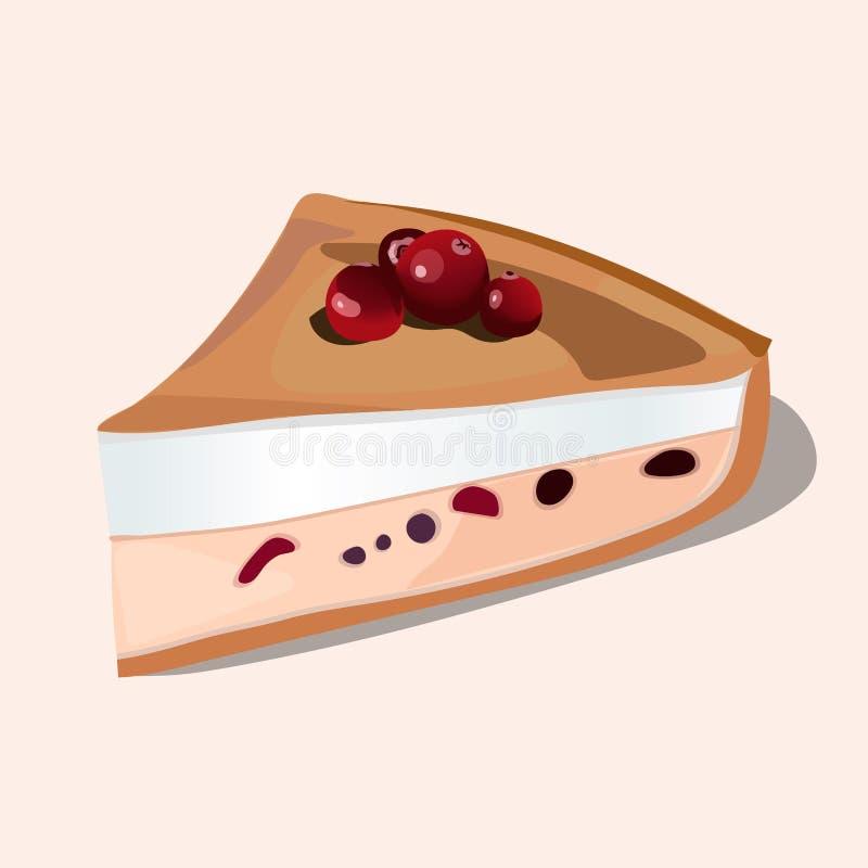Berry Pie stock illustrationer