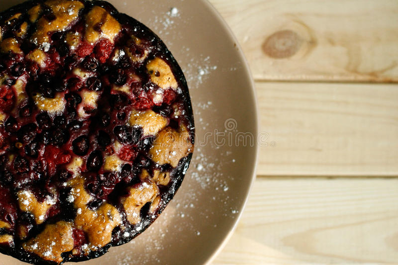 Berry pie royalty free stock images