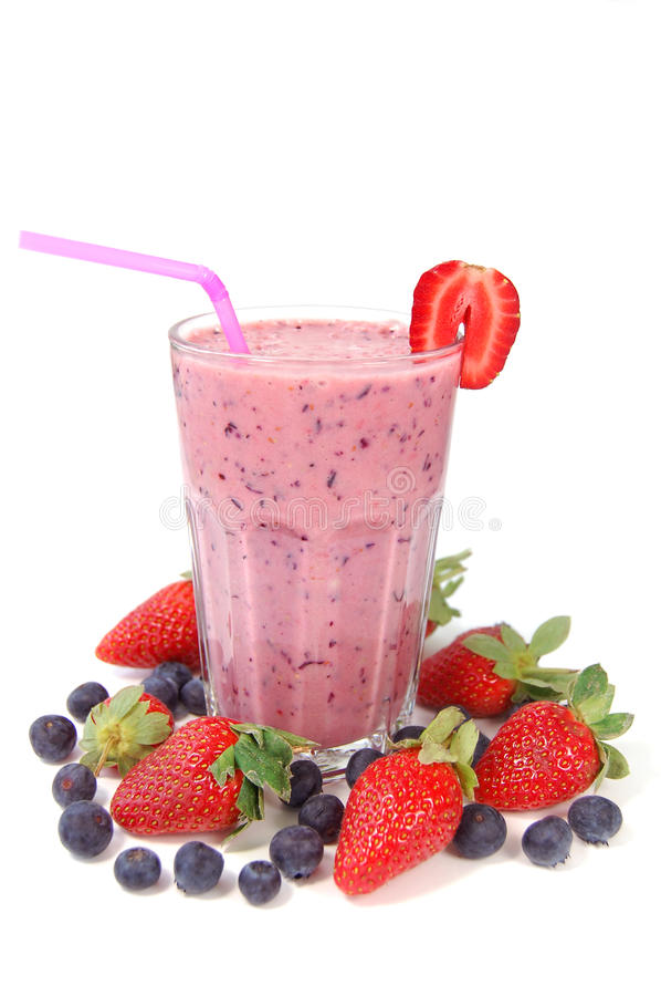Free Berry Smoothie Royalty Free Stock Photo - 12610985