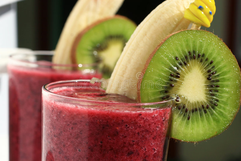 Berry smoothie stock image