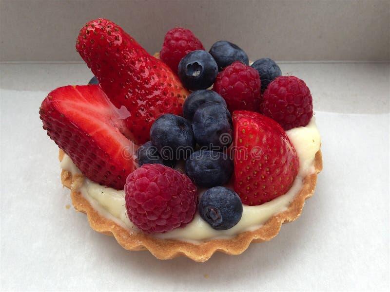 Berry tart pt. stock images