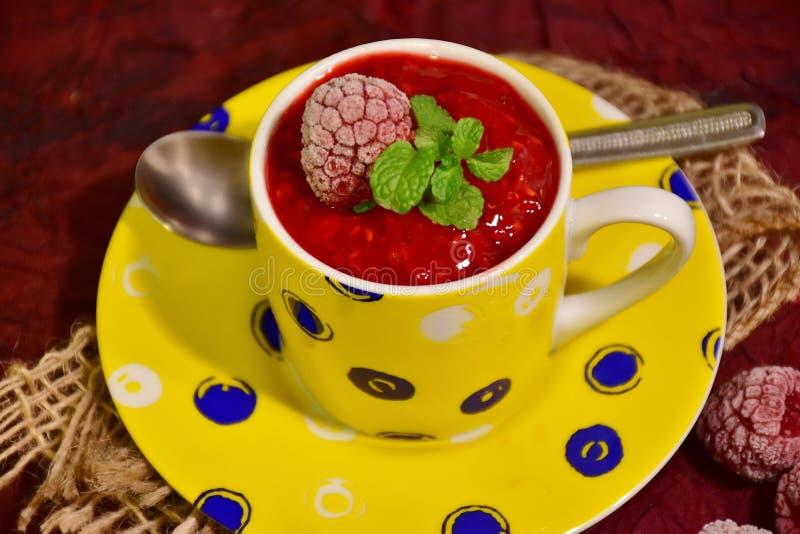 Berrys, Breakfast, Close-up royalty free stock photos