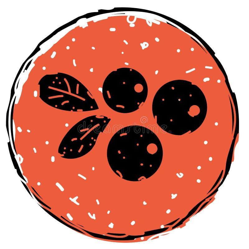 Berrys vector icon stock illustration