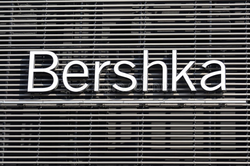 Bershka Logo royalty free stock photo