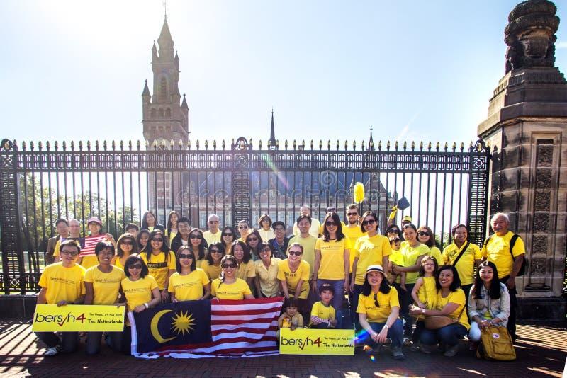Bersih-Protest stockbild
