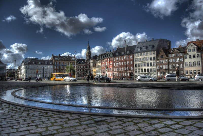 Bertel Thorvaldsens Square lizenzfreie stockbilder