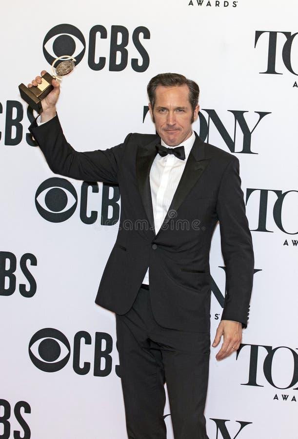 Bertie Carvel Wins a Tony Awards 2019 immagine stock