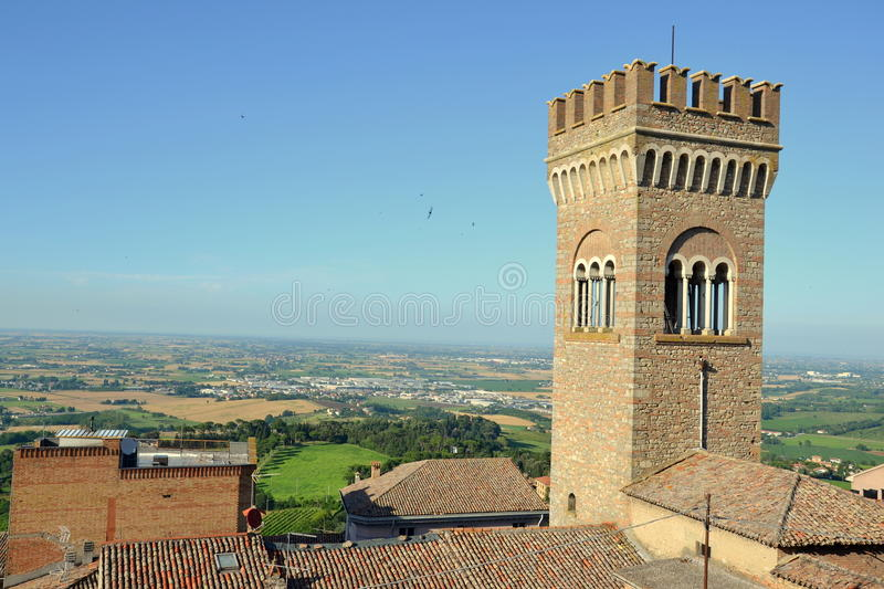 Bertinoro foto de stock royalty free