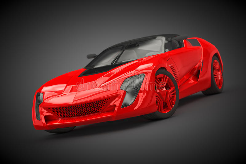 Bertone Mantide (2010) vector illustration