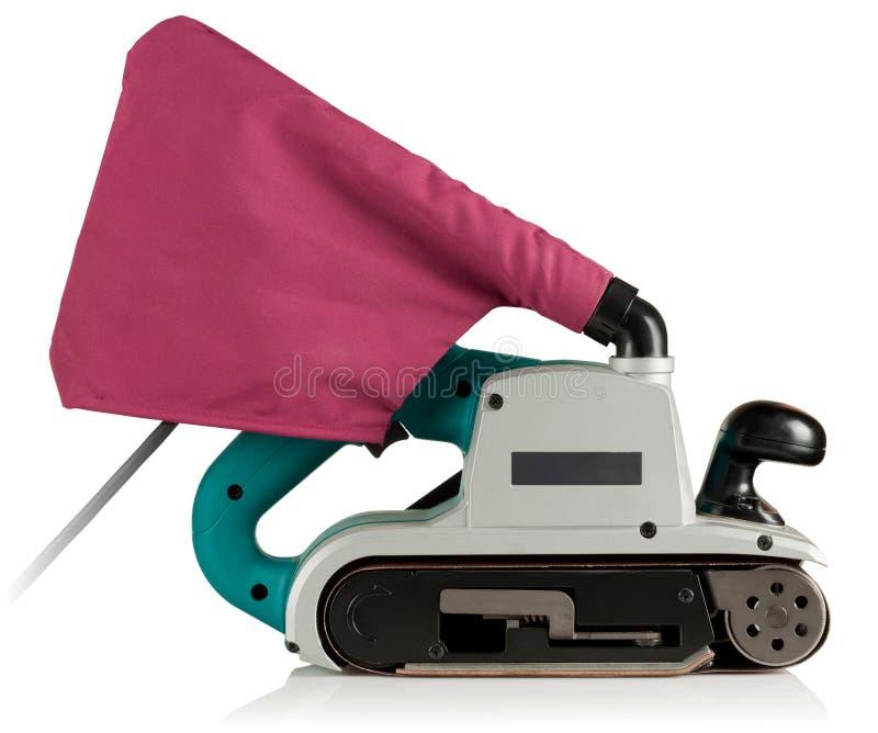 Berufsbandschleifmaschine stockbilder