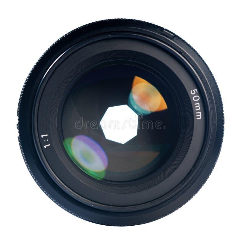 Berufsfotoobjektiv stockbild