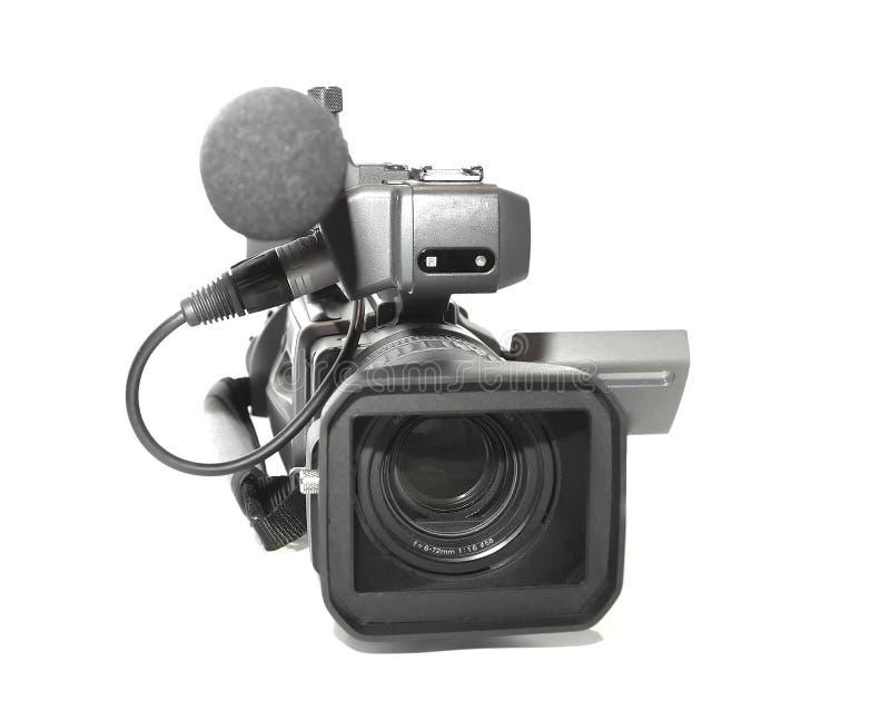 Berufskamerarecorder lizenzfreie stockbilder
