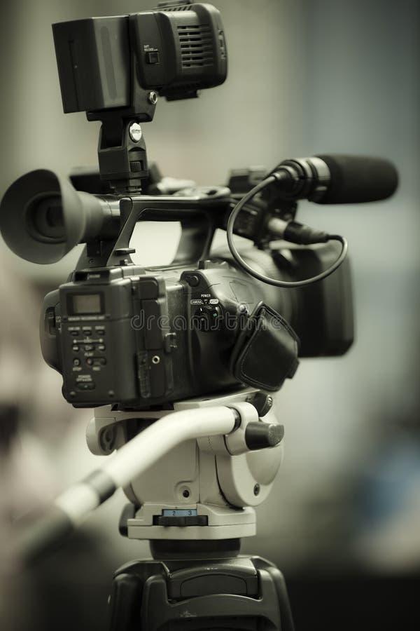 Nachrichtenschießen lizenzfreie stockfotografie