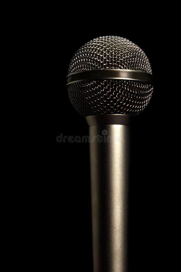 Berufsmikrofon Stockfoto