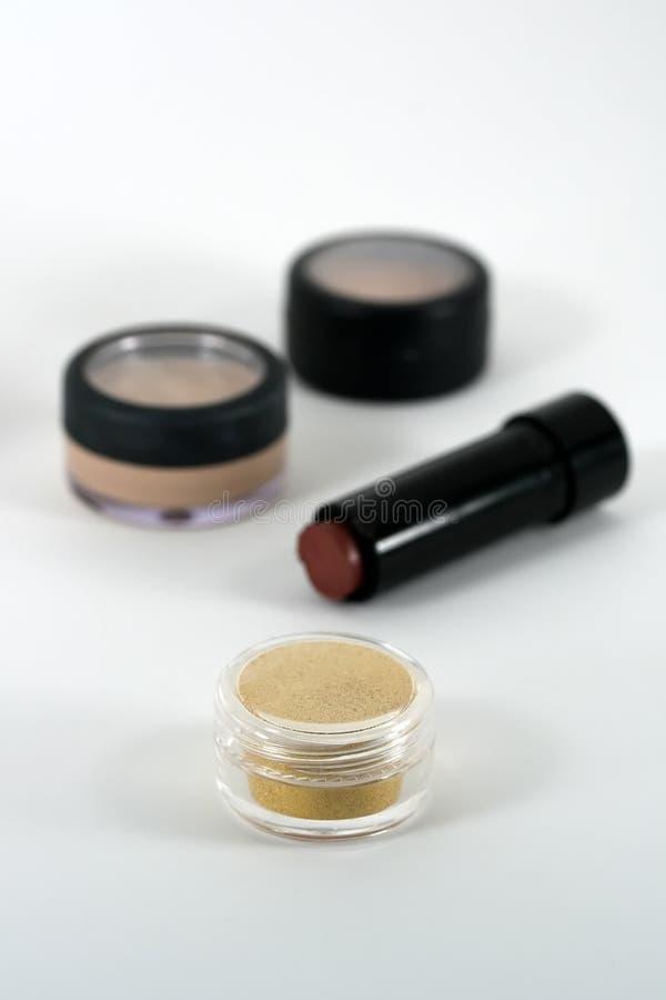 Berufsqualität bilden und kosmetische Produkte lizenzfreie stockfotografie