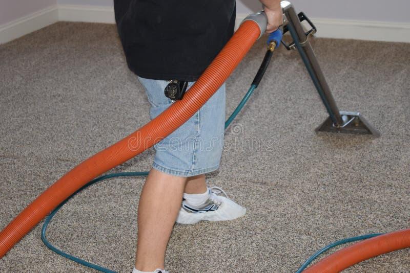 Berufsteppich-Reinigung stockbilder