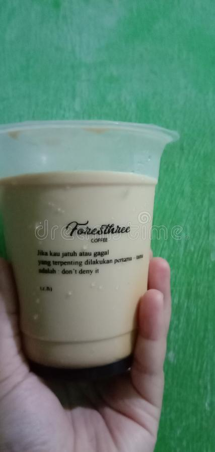 Beruhigender Kaffee lizenzfreies stockbild