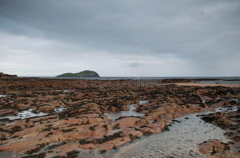 Berwick Beach del norte imagen de archivo