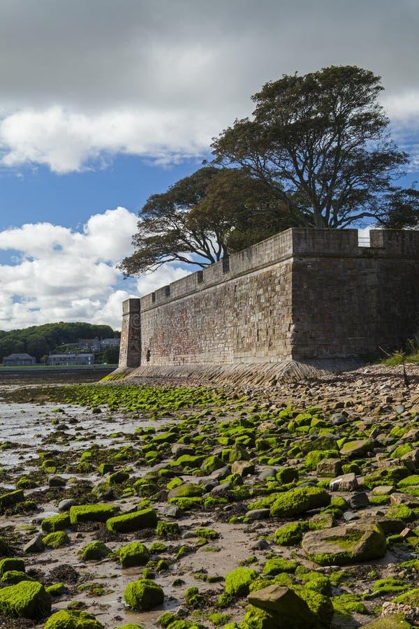 Berwick sobre las paredes del tweed fotografía de archivo libre de regalías