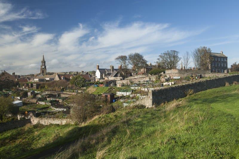 Berwick upon Tweed, Northumberland stock photography