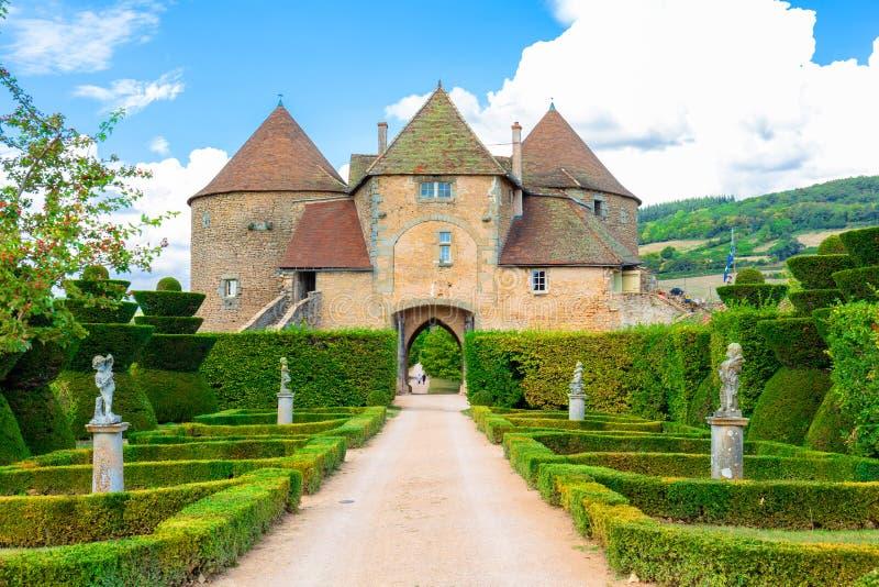 Berze-le-Chatel, Bourgogne, France images libres de droits