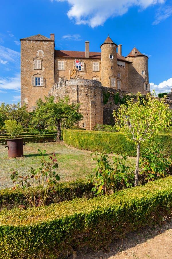 Berze-le-Chatel, Bourgogne, France photo libre de droits