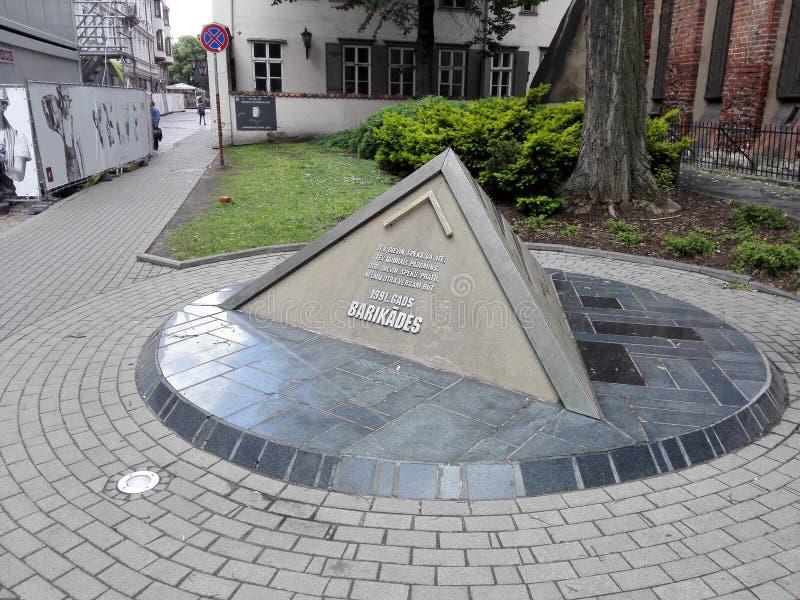 Besök Riga arkivfoto