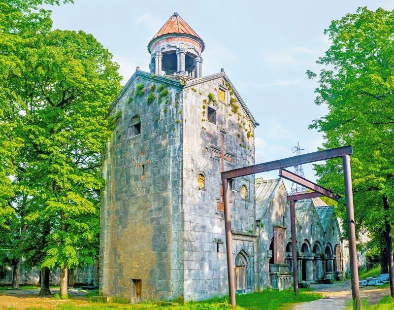 Besöka den Sanahin kloster arkivbilder