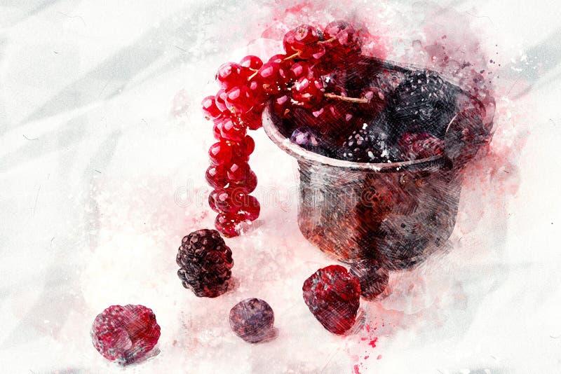 Bes, Frutti Di Bosco, Amerikaanse veenbes, Fruit royalty-vrije stock foto