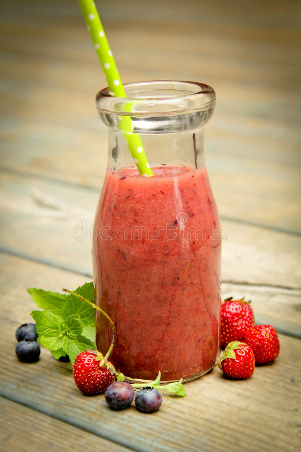 Bes smoothie stock fotografie