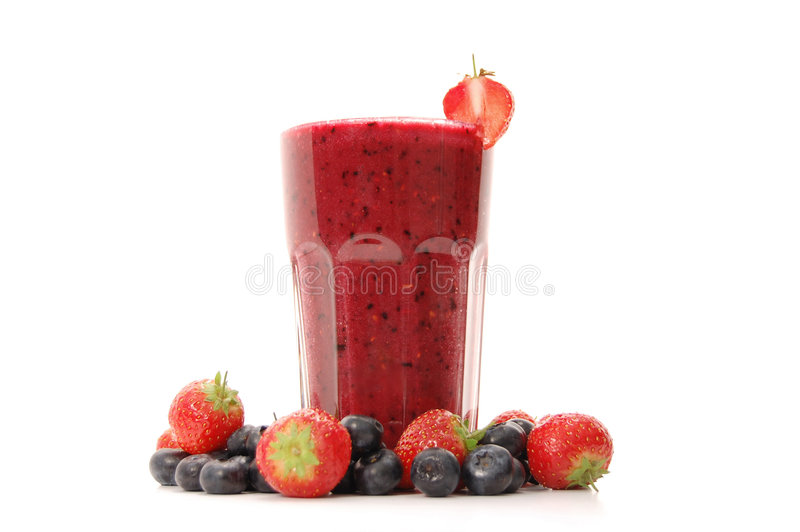 Bes smoothie stock foto