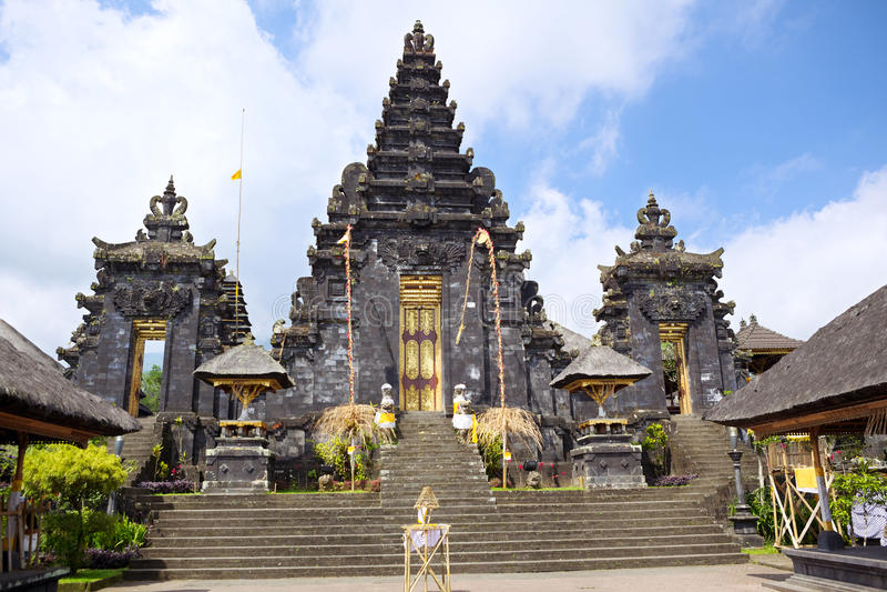 besakih ναός στοκ εικόνα με δικαίωμα ελεύθερης χρήσης