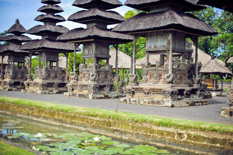 Besakih σύνθετο Pura Penataran Agung, ινδός ναός του Μπαλί στοκ φωτογραφία